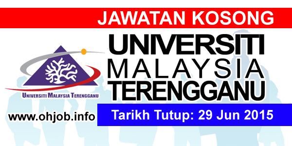 Jawatan Kerja Kosong Universiti Malaysia Terengganu (UMT) logo www.ohjob.info jun 2015