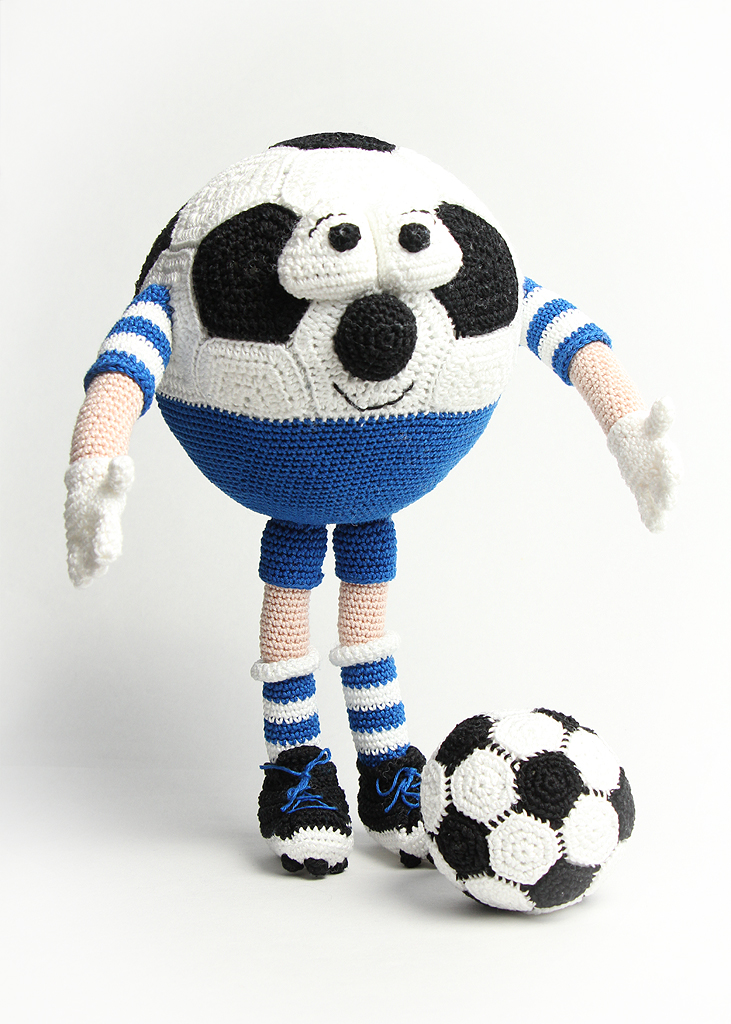 Handige Handjes: Een voetbal supporter