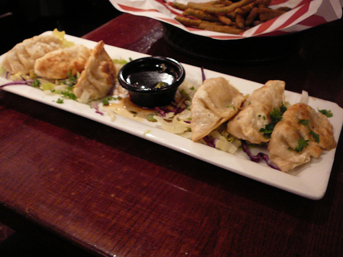 asian pot stickers from ruby tuesday
