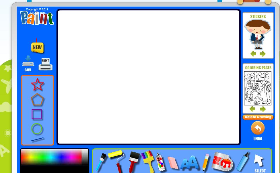 Berühmt Malprogramm Online Bilder - Ideen färben - blsbooks.com