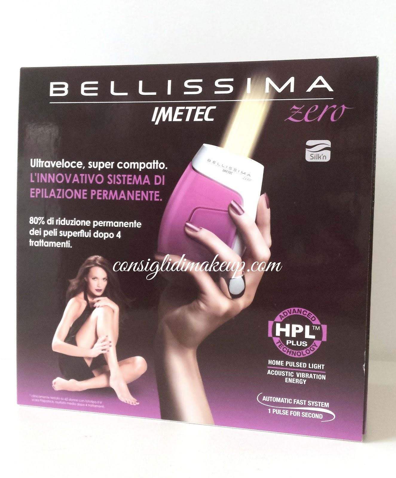 Bellissima Zero - Imetec: la luce pulsata a casa