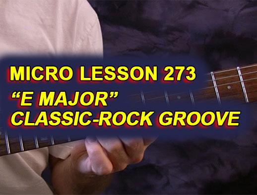 Micro Lesson 273: \