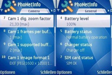 PhoNetInfo v3.1.0 S60v3 S60v5 S^3 SymbianOS 9.4 Unsigned {Mobile System Analyser}