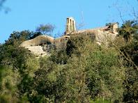 El campanar d'espadanya de l'ermita de Sant Feliuet de Savassona