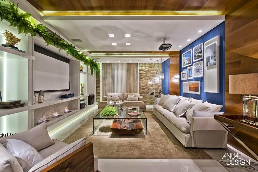 Sala Tv Com Lareira ~ 20 Salas de tv com lareira – tendência do momento! Veja modelos e