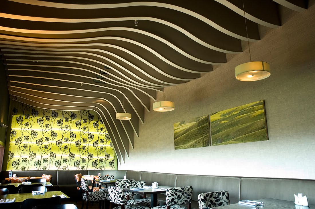 Restaurant Ceiling Design Ideas