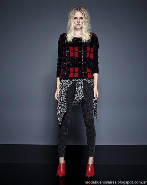 Kosiuko sweaters otoño invierno 2015. Moda invierno 2015