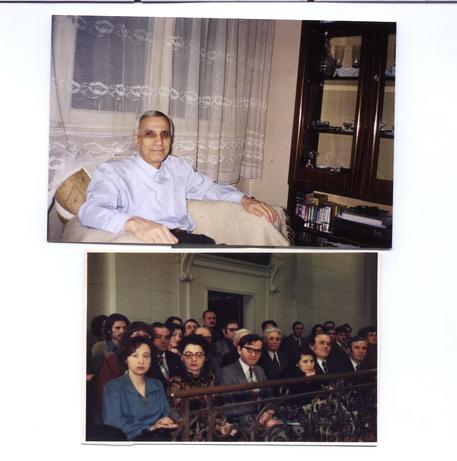 Nicolae Marcov, Anisoara Draga-Ducaru, Mihaila Ieronim, Gaby Marinoschi, Aula Academiei