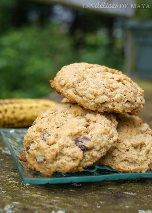 Biscuit avoine banane