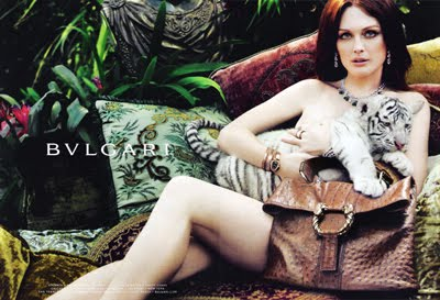 Julienne Moore loves Bvlgari