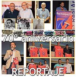 El Real Aranjuez sopla 70 velas