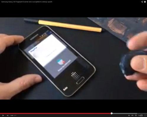 Pemindai Sidik Jari Samsung Galaxy S5 Mudah Dikelabui