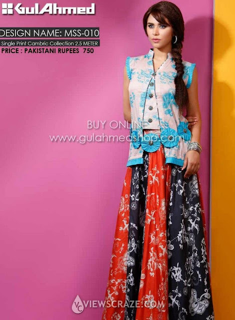 gul ahmed summer collection 2012