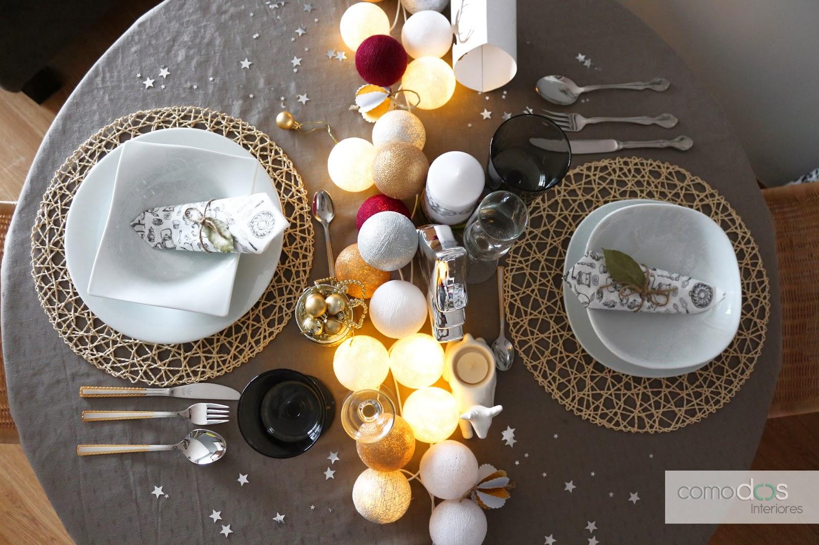 Comodoos interiores tu blog de decoracion poner la mesa - Como poner la mesa en navidad ...