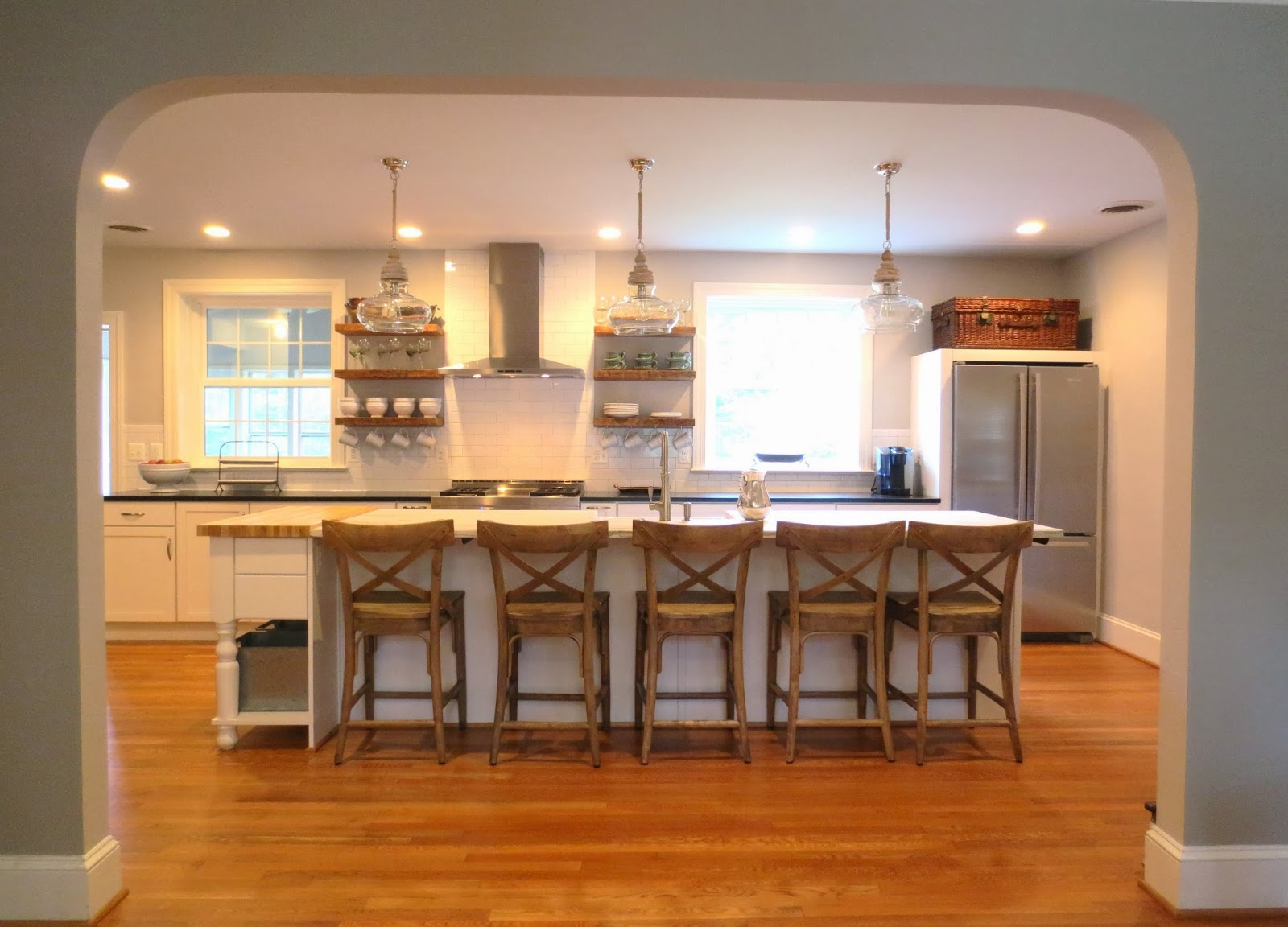 row house refuge timeless kitchen design part 1