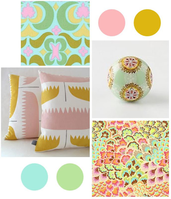 pink yellow and blue, pink green and yellow, mustard yellow and pink mood board, mustard yellow mood board, pink mood board, kiwi interior design, interior design blog, home decor, new zealand home decor, new zealand interior design, home decor blog