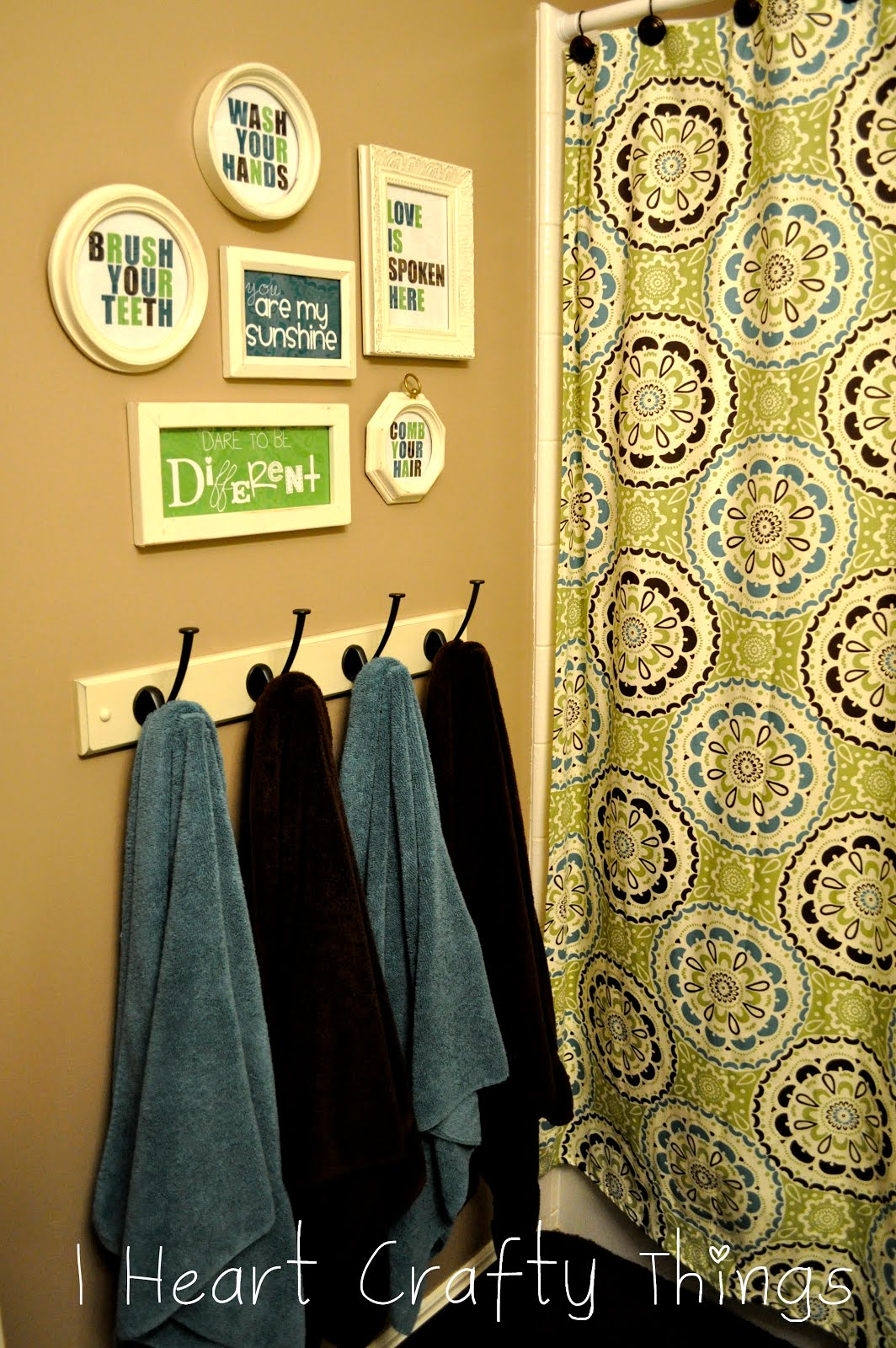 Bathroom Printables | I Heart Crafty Things