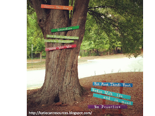 Katie can resources three days of synergy results in a 7 for 7 habits tree mural