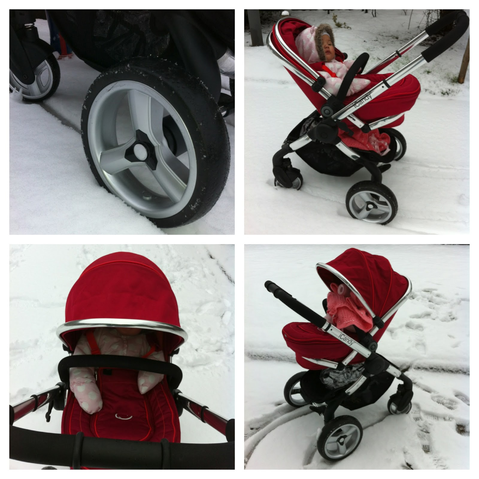 icandy apple jogger wheel instructions