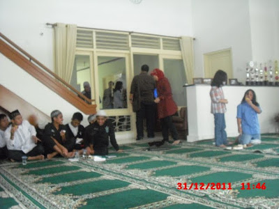 Acara Pengajian di Rumah Dinas Pimpinan BNI wil 4