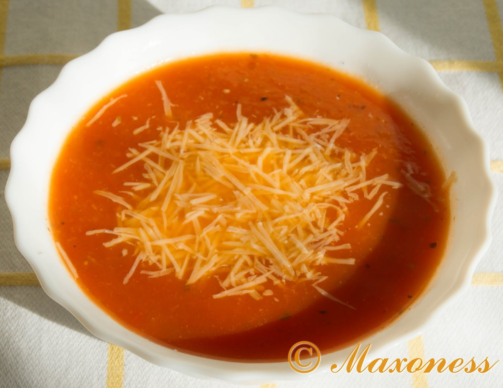 Томатный суп от Джейми Оливера