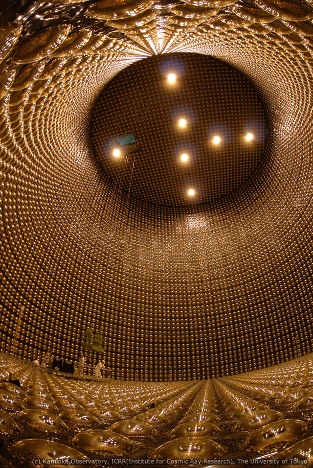 Super Kamiokande, Particle Observatory, Japan. 