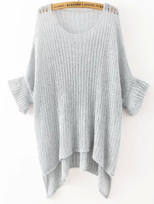 http://www.shein.com/Grey-Round-Neck-Split-Loose-Knit-Sweater-p-224279-cat-1734.html?utm_source=swaggie.com.pl&utm_medium=blogger&url_from=swaggie