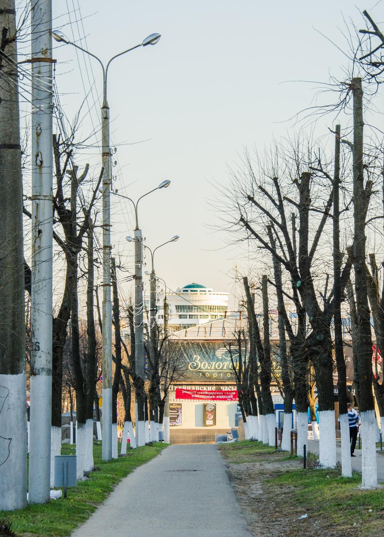 Вид на центр Иваново