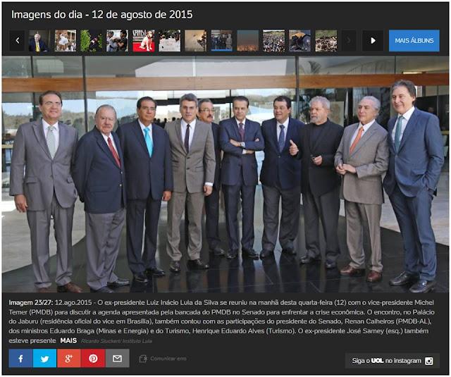 Uma foto histórica da reunião da elite fisiológica tentando salvar seus pescoços