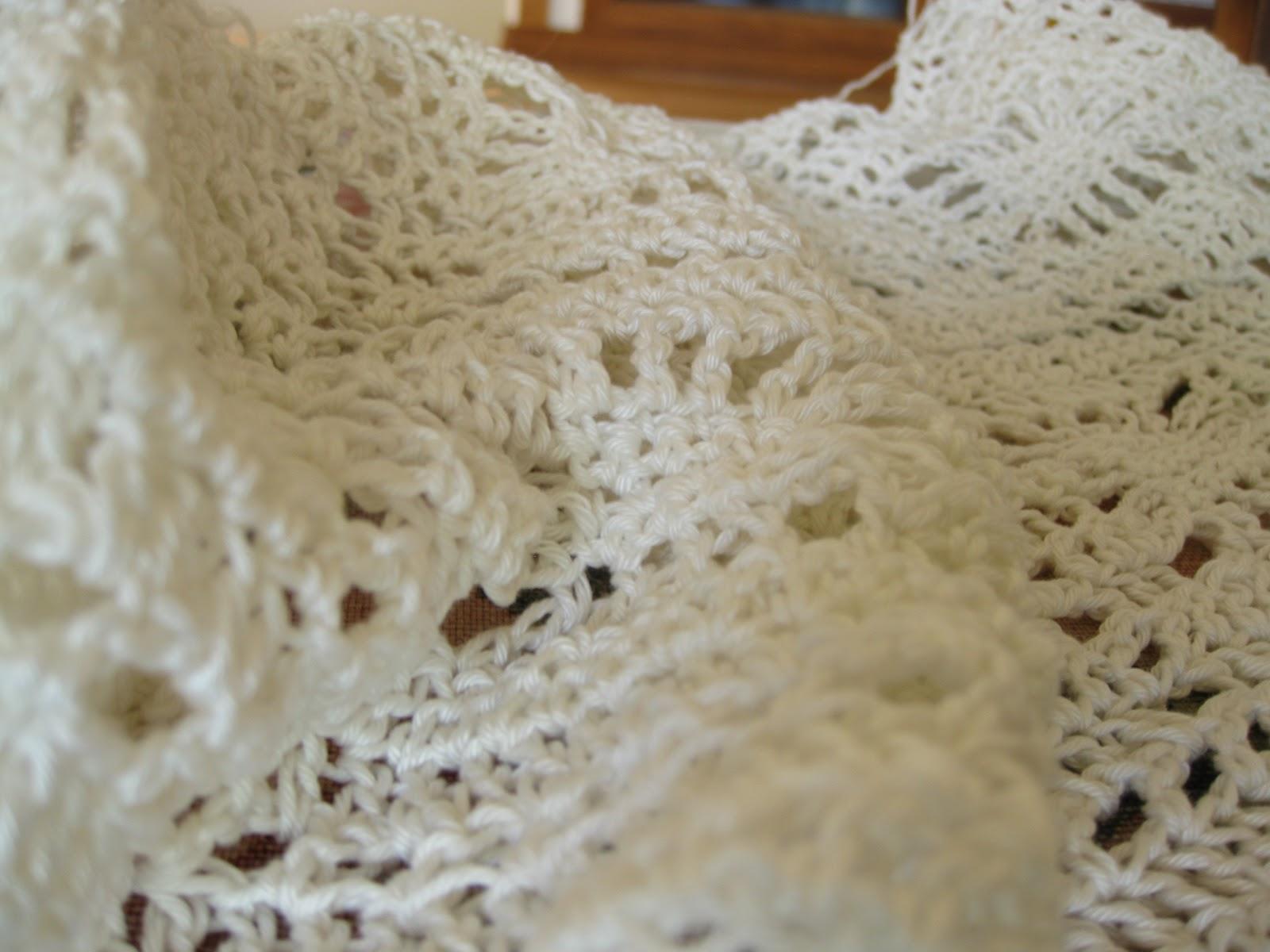 Crochet Heirloom Stitches : Crochet Heirloom Baby Blanket