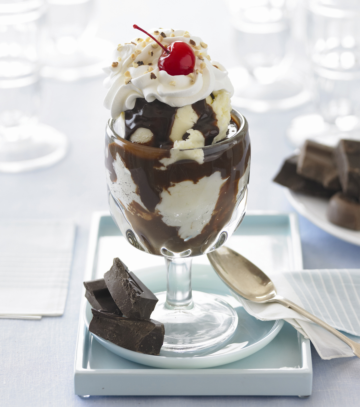 today is national hot fudge sundae day yay sundaes are one of the best ...