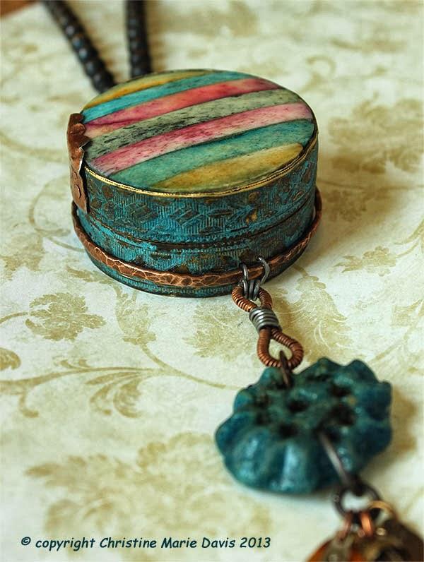 Amulet Box Assemblage