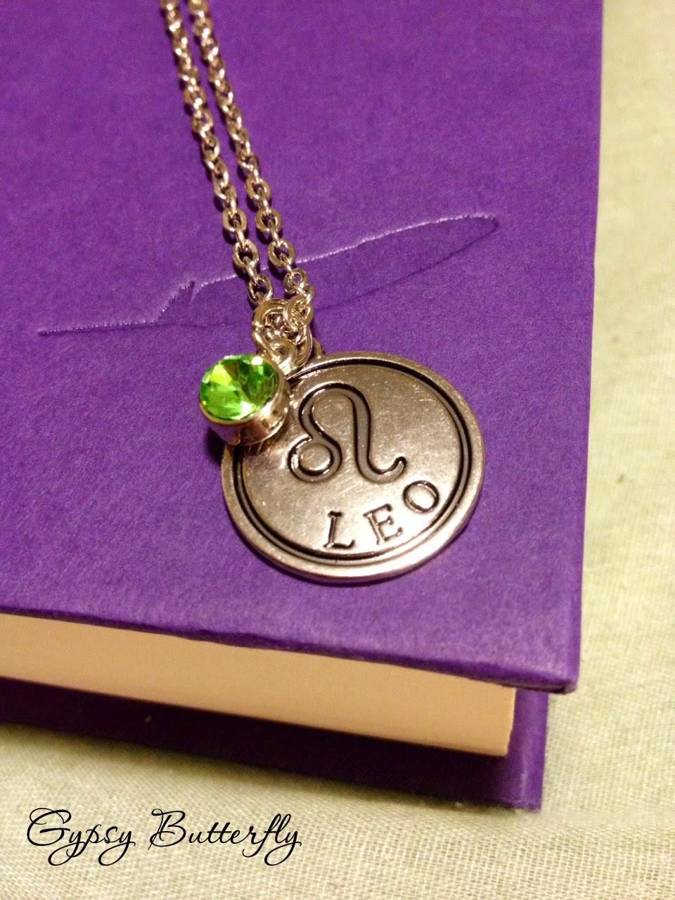 https://www.etsy.com/listing/196912241/leo-zodiac-sign-necklace-peridot-birth?