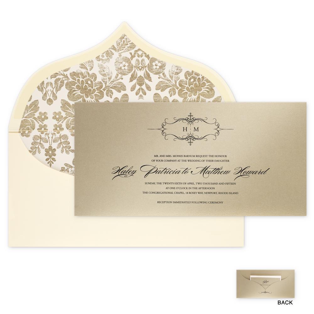Checkerboard Invitations | Isabella Invitations