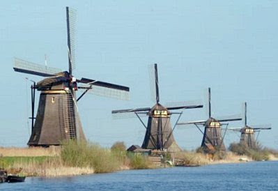 Windmills, the Netherlands