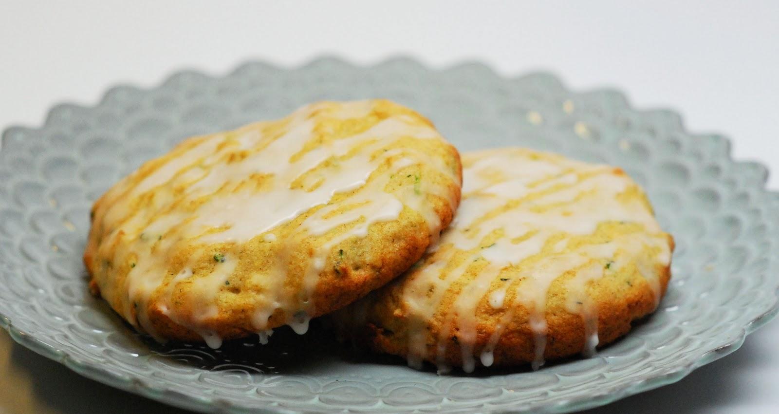 The Sweet Swiper: Zucchini Lemon Cookies