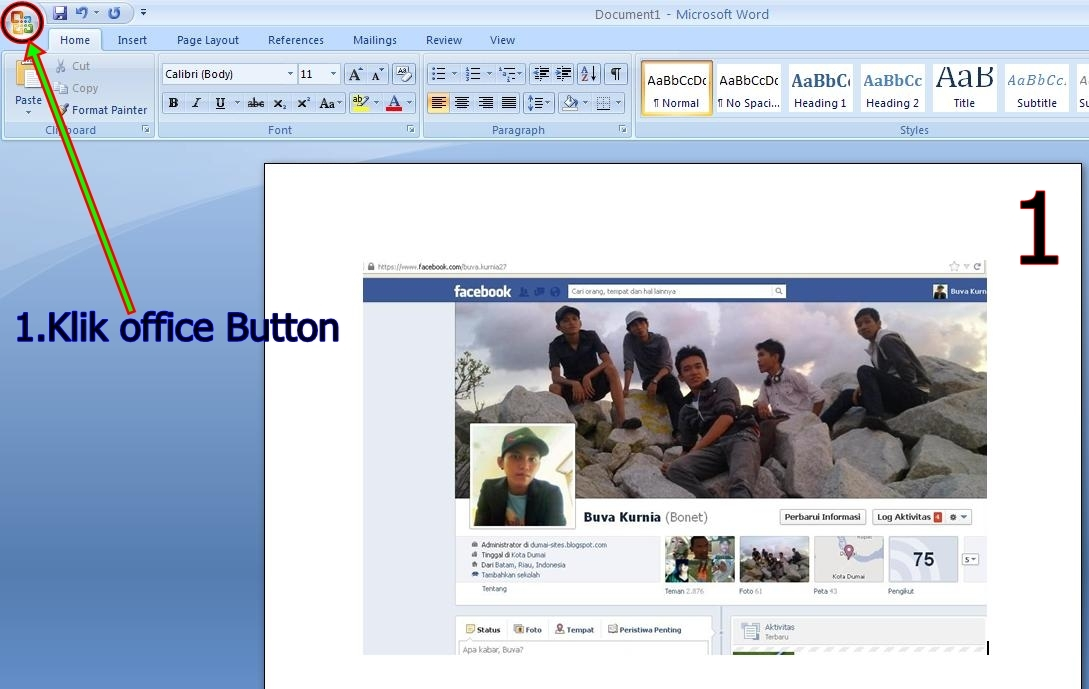 Cara Klik Start All Program Microsoft Office Microsoft Publisher 2007