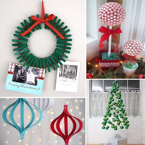 Ideias para decora o de natal de ltima hora papo de for Christmas decorations ideas to make at home