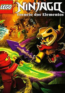 LEGO NINJAGO: Torneio dos Elementos - DVDRip Dublado