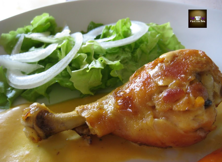 Pollo en horno tostador - Salsas para el pollo al horno ...