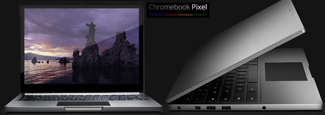 Laptop Google Chromebook Pixel Terbaru