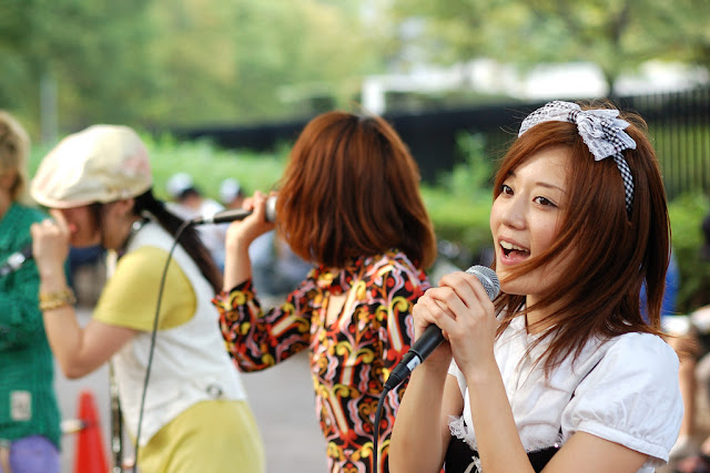 Bandas callejeras en Yoyogi