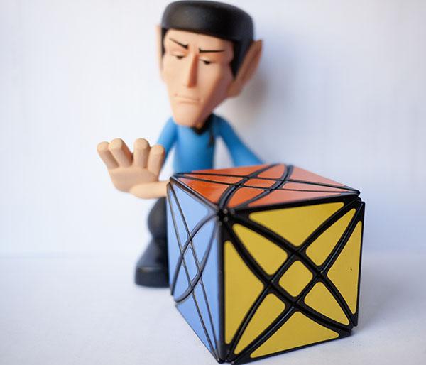 Rubik Rex Spock Star Trek