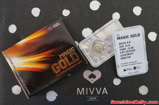 MIVVA Glow Gizmo, Mivva box, Beauty Box Review, beauty, IGEL Lenses, Magic Pop Monthly