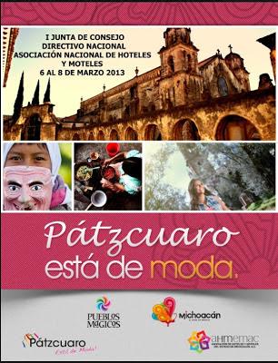 En Pátzcuaro, I Junta de Consejo Directivo de la Asociación Mexicana de Hoteles y Moteles