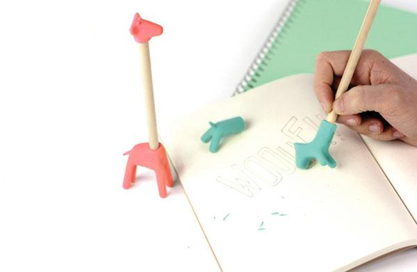 Eraser zoo