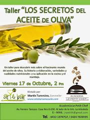 Los Secretos del Aceite de Oliva + Aceto Balsámico y Vinagre de Jerez