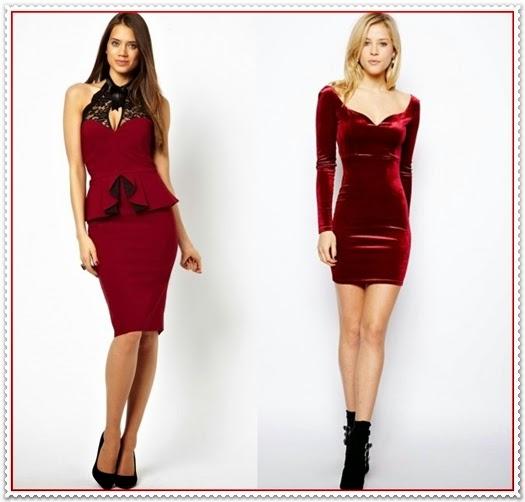 Romantische Valentinstag-Kleider