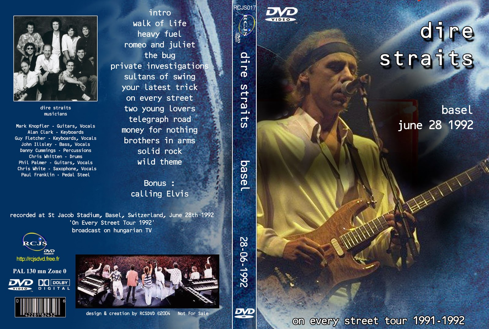 Dire Straits Live The Warner Bros Music Show