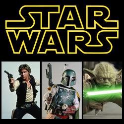Star Wars - Yoda, Han Solo & Boba Fett Spin offs